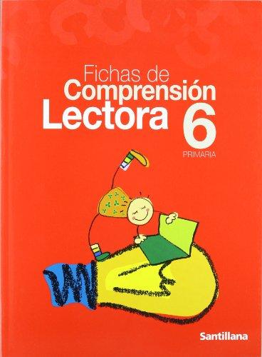 9788429485455: Fichas de Comprensión lectora, 6º Primaria.