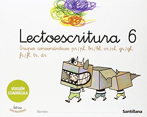 9788429486315: Lectoescritura, 6 Educación Infantil, (versión cuadrícula)