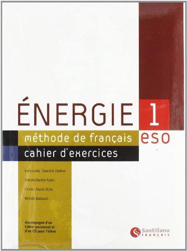 ENERGIE 1 CAHIER D'EXERCICES: MARTIN NOLLA, CARMEN