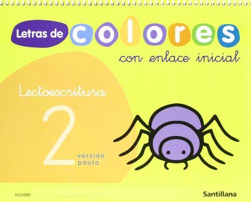 LETRAS DE COLORES 2 CON ENLACE INICIAL: VARIOS AUTORES