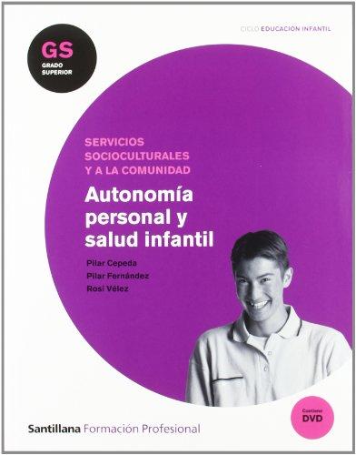 9788429489484: Autonomía Personal y Salud Infatnil Gs Ciclo Educación Infantil Santillana Fp