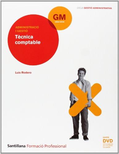 9788429490374: FP TECNICA CONTABLE + DVD ED 2009 CATALA