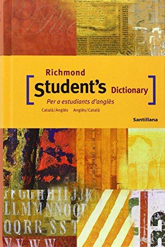 9788429495300: Richmond student's dictionary : català-anglès, anglès-català - 9788429495300