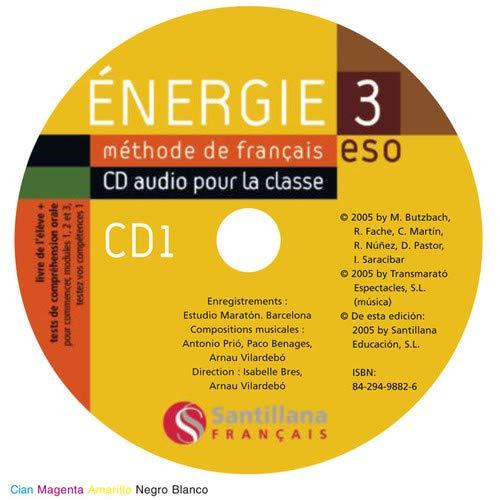 Energie 3 Eso (Methode De Francais CD Audio Pour La Classe)