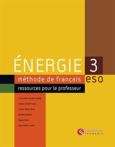 9788429498844: Energie 3 Eso (methode de francais ressources pour le professeur)