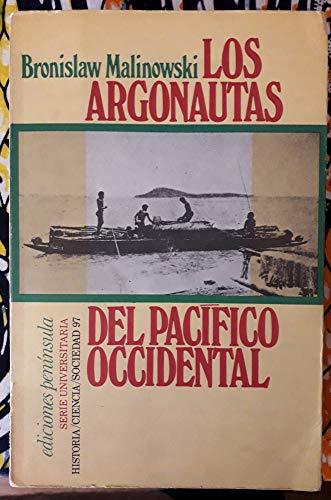 9788429708677: Argonautas del pacifico occidental, los