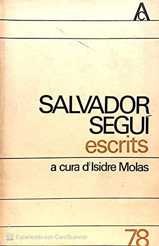 9788429710717: Escrits (Antologia catalana ; 78) (Spanish Edition)