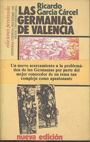 9788429710984: Las germanias de Valencia (Serie universitaria) (Spanish Edition)