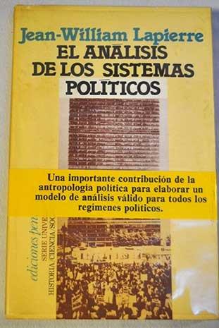 9788429712063: El análisis de los sistemas polític