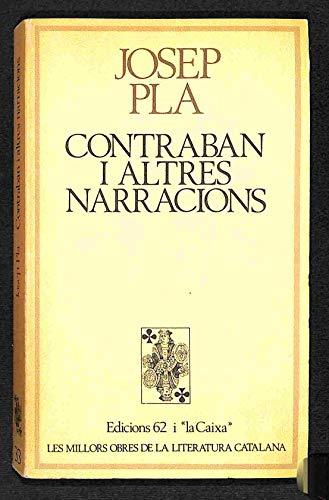 Contraban i altres narracions (Les millors obres: Josep Pla