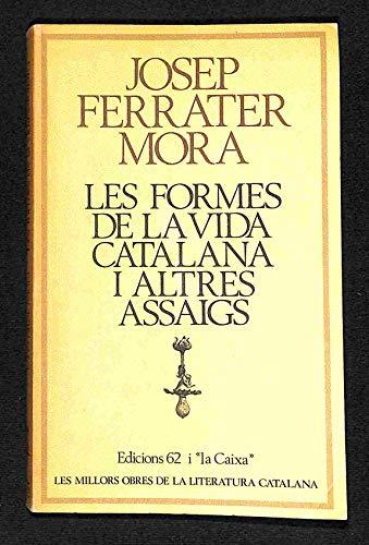 9788429715880: Les formes de la vida catalana (Les millors obres de la literatura catalana)