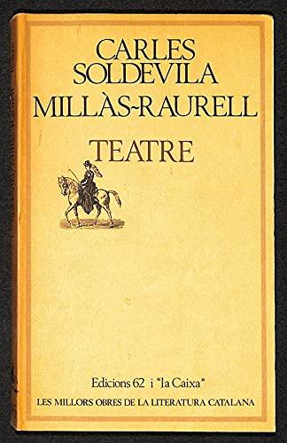 9788429716504: Teatre (Les Millors obres de la literatura catalana) (Catalan Edition)