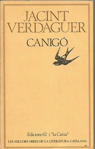 9788429716801: Canigo (Les Millors obres de la literatura catalana) (Catalan Edition)