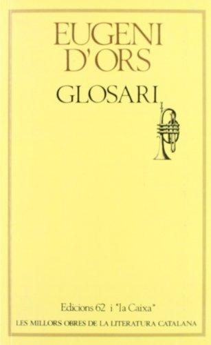 9788429718263: Glosari: (seleccio) (Les Millors obres de la literatura catalana) (Catalan Edition)