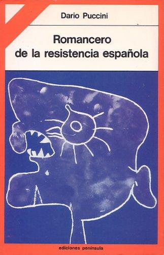 9788429718638: Romancero de la resistencia española (TEMAS HISTORIA POLITICA CONTEMPORANEA)