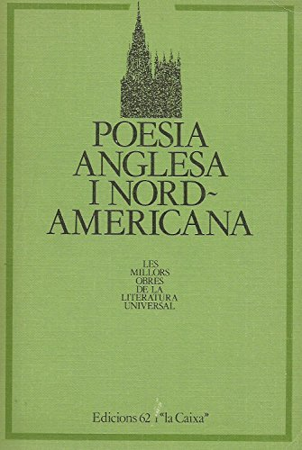 9788429723724: Poesia anglesa i nord-americana.: Antologia (Les millors obres de la literatura universal)
