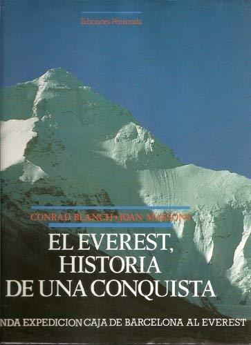 9788429724363: El Everest, historia de una conquista: Segunda expedición caja de Barcelona al Everest (Spanish Edition)