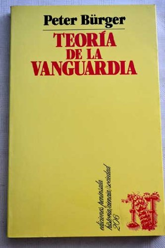 9788429726534: Teoria de la vanguardia.