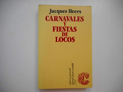 9788429727395: Carnavales y fiestas de locos