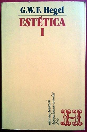 LECCIONES DE ESTETICA 1 (8429729593) by GEORG WILHELM FRIEDRICH HEGEL
