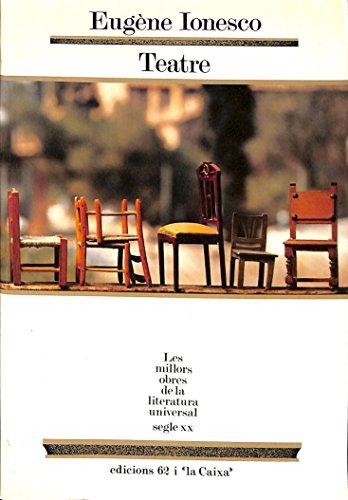 9788429731101: Teatre.: La lliçó. Les cadires. Rinoceront (MOLU s.XX - Les Millors Obres de la Literatura Universal Segle XX)
