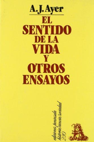 9788429735826: El Sentido de La Vida y Otros Ensayos (Spanish Edition)