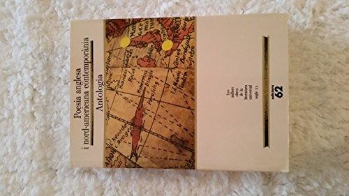 9788429737240: Poesia anglesa i nordamericana contemporània.: Antologia (MOLU s.XX - Les Millors Obres)