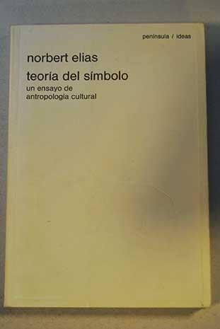 9788429737318: TEORIA DEL SIMBOLO: UN ENSAYO DE ANTROPOLOGIA CULTURAL