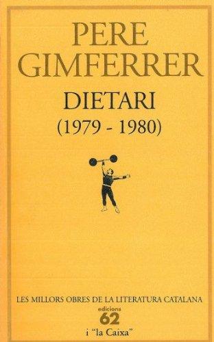 9788429737837: Dietari 1979-1980