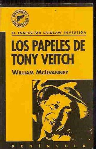 9788429739084: Los papeles de Tony Veitch