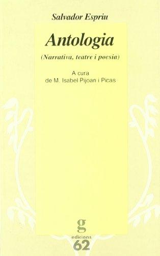 9788429739954: Antologia.: Narrativa, teatre i poesia
