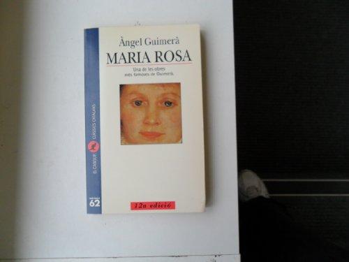 9788429741155: Maria Rosa (El Cangur)