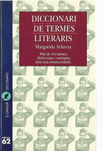 9788429741186: Diccionari de termes literaris (El Cangur)