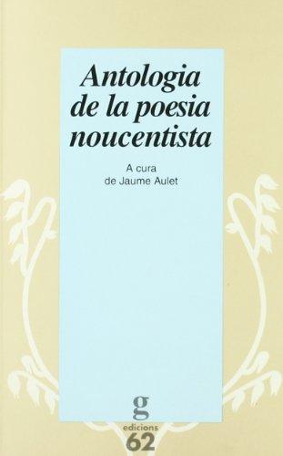 9788429742831: Antologia de la poesia noucentista (El Garbell)