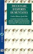 Diccionari d'esports de muntanya: Albesa i Riba,