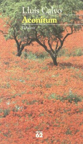 9788429744989: Aconitum (El Balanci) (Catalan Edition)
