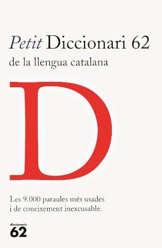 9788429746518: Petit diccionari 62 de la llengua catalana