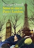 9788429752625: Sense ni cinc a París i Londres (Millors obres literatura universal del S.XX)