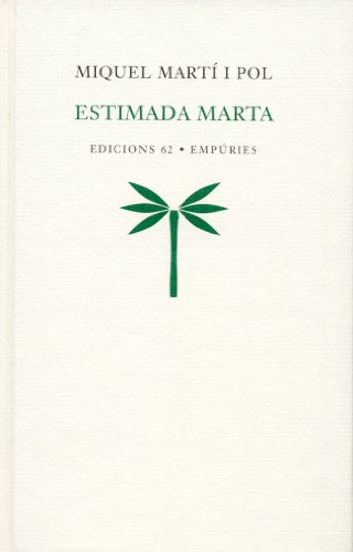 9788429753899: Estimada Marta (Poesia)