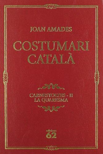 9788429757231: Costumari català.