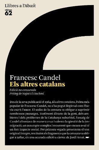 9788429761573: Els altres catalans: Edició no censurada (Llibres a l'abast)