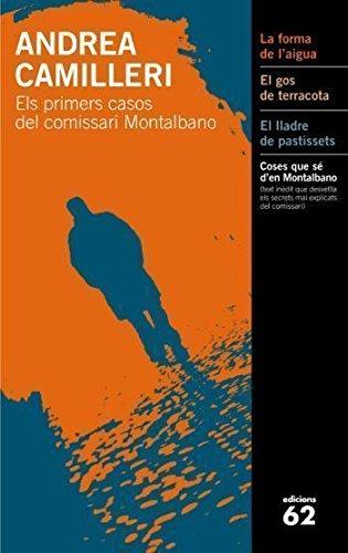9788429761696: Els primers casos del comissari Montalbano.: El gos de terracota. El lladre de pastissets. La forma de l'aigua. (El Balancí)