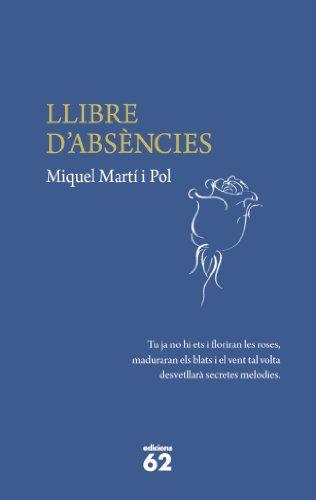 9788429768886: Llibre d'absències (Poesia)