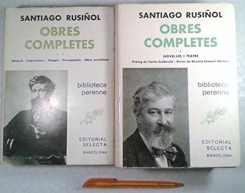9788429805697: Obres completes 2 vols