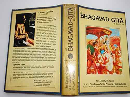 9788430001255: Bhagavad gita. tal como es