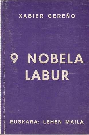 9788430021741: 9 Nobela Labur (Xabier Gereño)