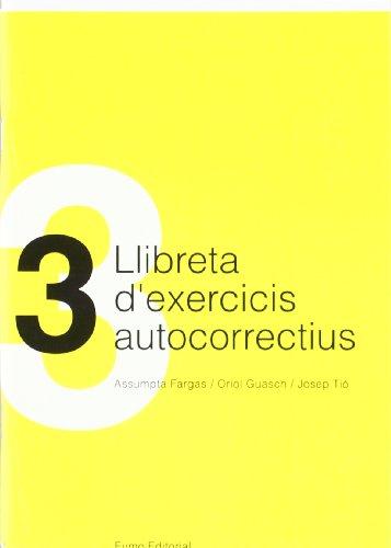 9788430029778: Llibreta d'exercicis autocorrectius 3 (ESO Llengua)