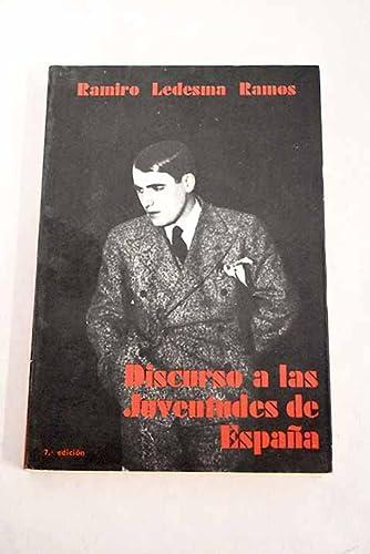 9788430036097: DISCURSO A LAS JUVENTUDES DE ESPAÑA