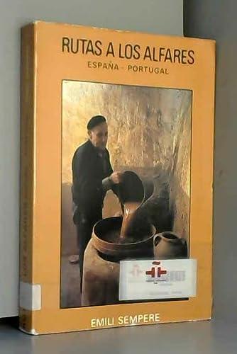 9788430053889: Rutas por alfares, de España y Portugal