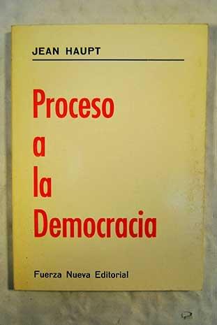 Proceso a la democracia: Hauptmann, Gerhart Jerez
